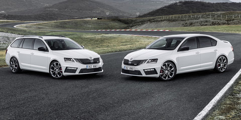 2018 Skoda Octavia RS on sale in Australia from $38,890, RS245 confirmed