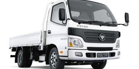 Foton returns to Australian market with Tunland, Sauvana, Aumark and CS2 van