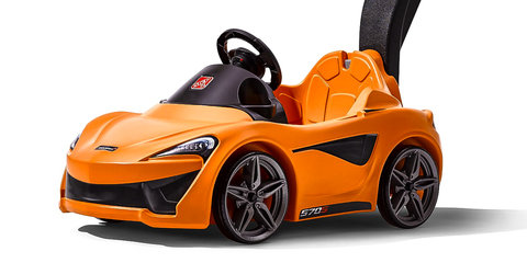 McLaren proves car design is child's play with all-new open-top sportster