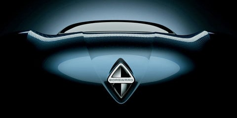 Borgward sports car teased ahead of Frankfurt debut