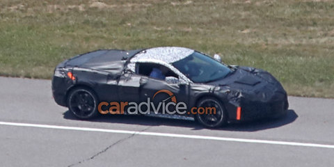 2019 Chevrolet Corvette: Mid-engine supercar spied