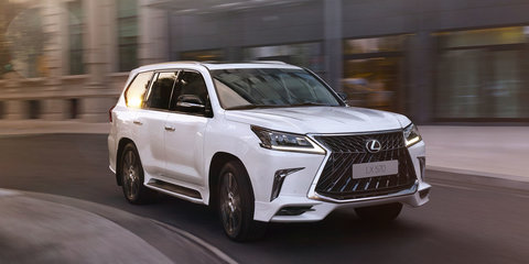 2018 Lexus LX Superior: More aggressive model revealed in Russia