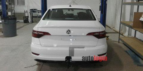 2018 Volkswagen Jetta spied undisguised