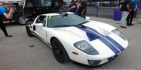 This GOLD-PLATED Ford GT boasts OVER 2400HP! And we get to go for a ride-along!