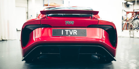 2017 TVR Griffith unveiled: V8 two-seater marks official return of UK icon