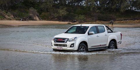 Chasing Jewfish in the Isuzu D-Max