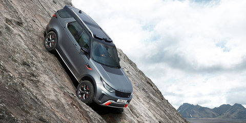 2019 Land Rover Discovery SVX revealed, due in Australia late 2018
