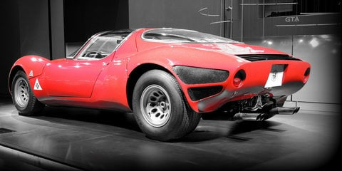 Alfa Romeo 33 Stradale celebrates its 50th birthday