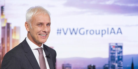 Volkswagen Group CEO calls out Tesla for low volume, consistent losses