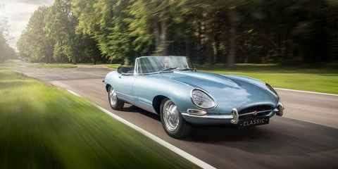 Jaguar E-Type Zero electric car revealed