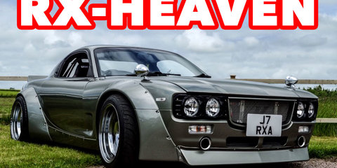 Is this the coolest FD Mazda RX7 in the world?