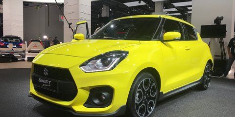 2018 Suzuki Swift Sport details