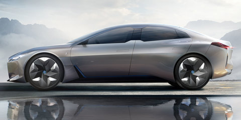 BMW i Vision Dynamics concept revealed: Tesla rival previewed