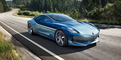 Borgward Isabella: Striking EV concept revives iconic nameplate