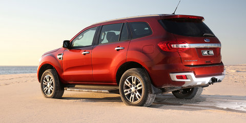 Ford Everest Titanium gets new wheel option for off-road comfort