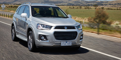 2018 Holden Captiva updates announced
