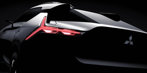 Mitsubishi e-Evolution Concept teased ahead of Tokyo motor show