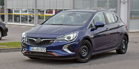 2018 Holden Astra 'GSi' spied