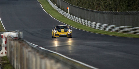 Porsche 911 GT2 RS sets Nürburgring lap record