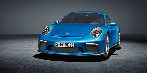 Porsche 911 GT3 with Touring Package revealed