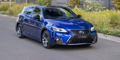 2018 Lexus CT200h pricing and specs