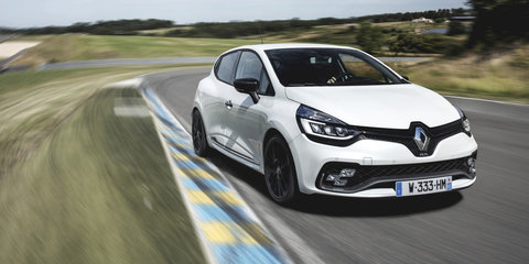 2018 Renault Clio RS Trophy pricing and specs