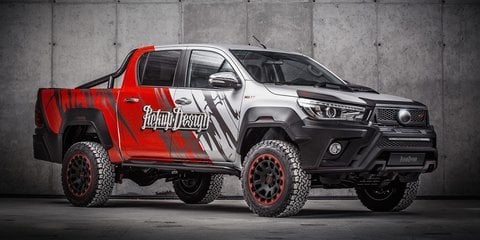 Toyota HiLux gets mega makeover courtesy of Carlex design