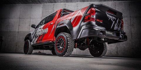 Toyota HiLux gets mega makeover courtesy of Carlex design