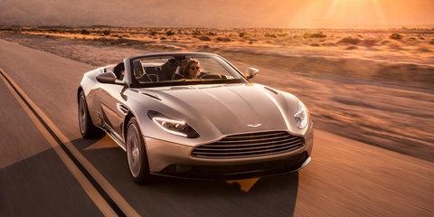 2018 Aston Martin DB11 Volante unveiled