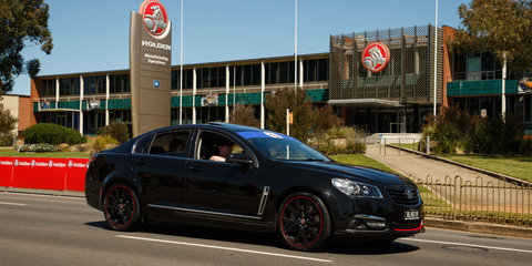 Taking a ride in the 2017 Holden Commodore Director: And it's a daily driver!