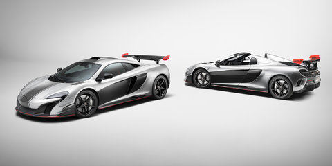 McLaren MSO R Coupe and Spider revealed