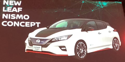 Nissan Leaf Nismo concept revealed ahead of Tokyo show - UPDATE