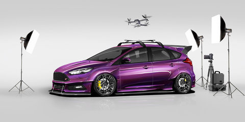 Ford Focus RS and ST concepts unveiled ahead of SEMA 2017