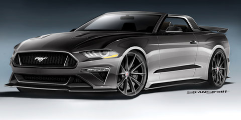Ford Mustang: Seven concepts bound for SEMA