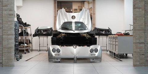 Pagani offers a peek at Zonda restoration program