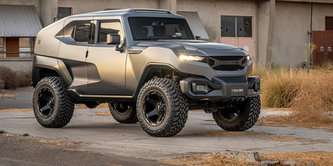 Rezvani Tank: 373kW off-roader revealed