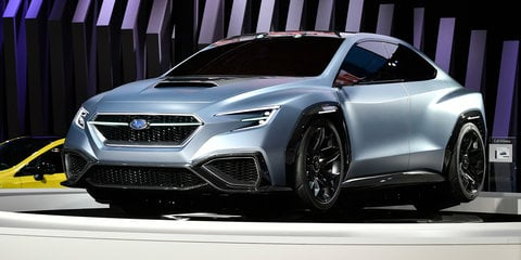 Subaru VIZIV Performance concept revealed