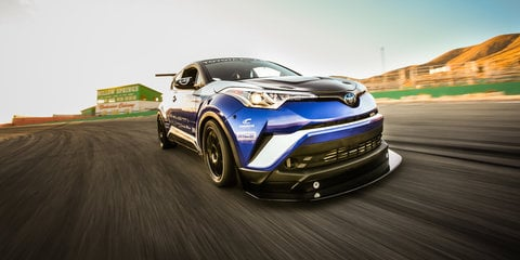 Toyota C-HR R-Tuned: 447kW racer headlines stand at SEMA