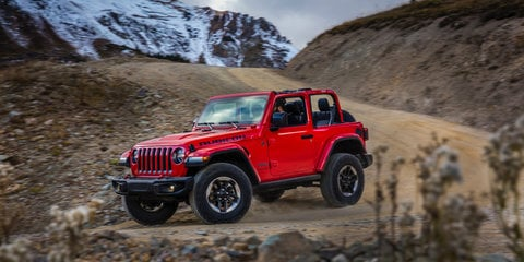 New Wrangler misses AEB for now, coming to Oz for testing