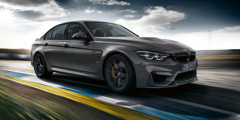 2018 BMW M3 CS revealed, local arm keen