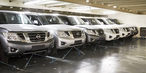 2018 Nissan Patrol arrives in Australia with new rear-view mirror tech