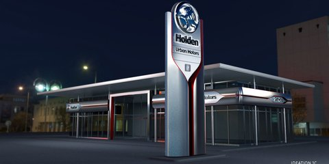 Holden's dealer network is getting up to $200 million worth of upgrades