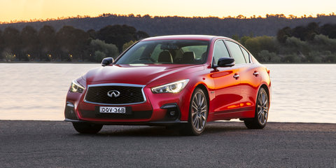 2018 Infiniti Q50 30t Red Sport review