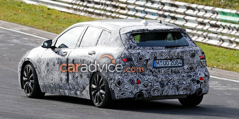 2019 BMW 1 Series interior spied