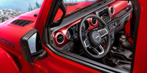 2018 Jeep Wrangler interior revealed