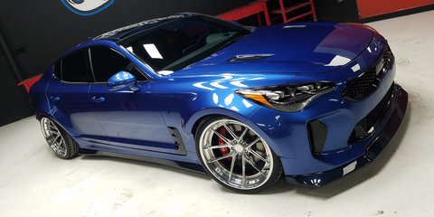 Kia rolls out a pair of Stingers for SEMA