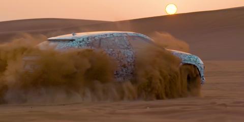 Lamborghini Urus teased ahead of December reveal