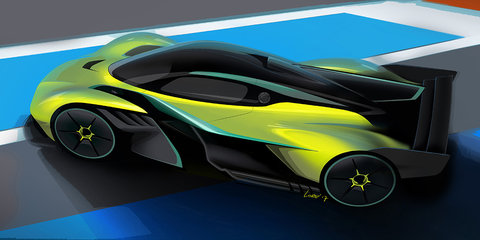 Aston Martin Valkyrie AMR Pro announced