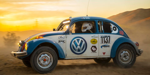 Factory-sponsored 1970 Beetle to tackle Baja 1000