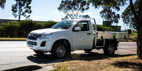 2017 Isuzu D-MAX 4x4 SX Single Cab Chassis review